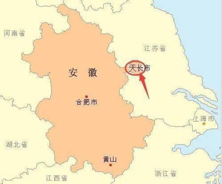 大陸地理位置最奇葩的城市,位於江蘇卻屬於安徽